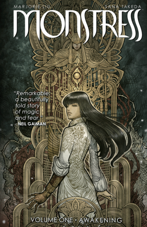 Monstress by Marjorie Liu and Sana Takeda